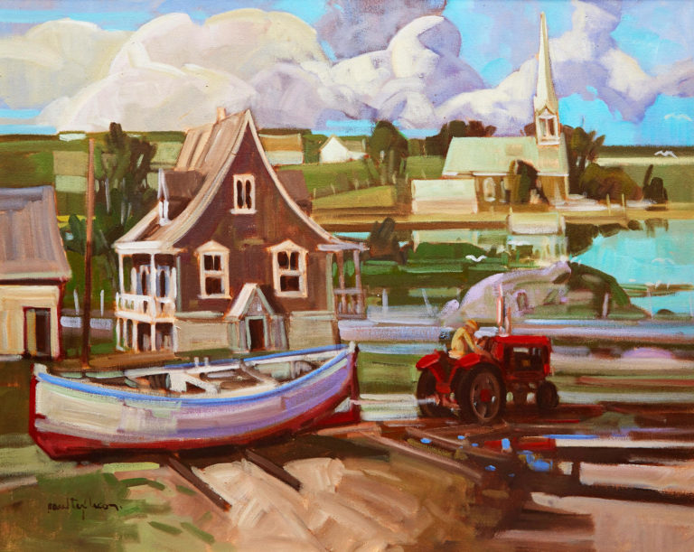 Paul 'Tex' Lecor, a great artist and Quebec figurative painter